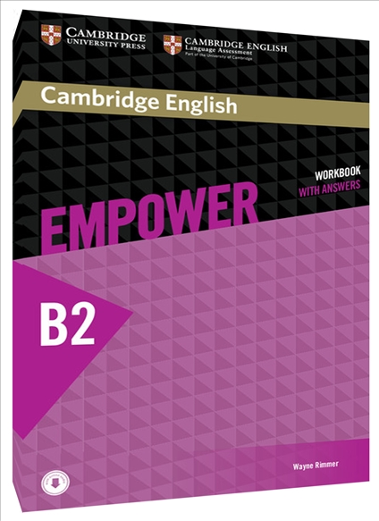 Welcome to the bebc website buy your english language books from us cambridge english empower b2 upper intermediate workbook with answers and online audio fandeluxe Images