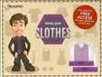 Memory Game Clothes Board Game