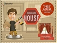 Memory Game House Board Game