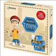 MemoRace Town Board Game