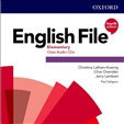 English File Elementary Fourth Edition Class Audio CD