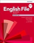 English File Elementary Fourth Edition Workbook without Key