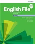 English File Intermediate Fourth Edition Workbook with Key