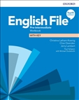 English File Pre-intermediate Fourth Edition Workbook with Key