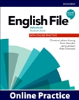 English File Advanced Fourth Edition Online Practice Access Code Only