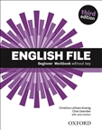 English File Beginner Third Edition Workbook without key