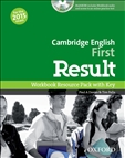 First Result Cambridge English Workbook with Key with CD-Rom 2015 Exam