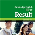 First Result Cambridge English Class Audio CD 2015 Exam