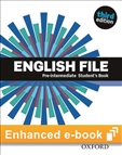 English File Pre-intermediate Third Edition Student's eBook