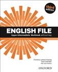 English File Upper Intermediate Third Edition Workbook without key