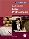 Express Series: English for Legal Professionals Book with Multi-Rom