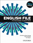 English File Pre-intermediate Third Edition Student's Book