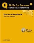 Q Listening & Speaking 1 Teacher's Book Pack