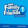 Family and Friends 1 Second Edition Class Audio CD