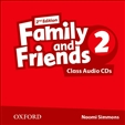 Family and Friends 2 Second Edition Class Audio CD