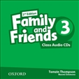Family and Friends 3 Second Edition Class Audio CD