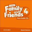 Family and Friends 4 Second Edition Class Audio CD