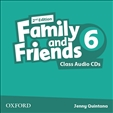 Family and Friends 6 Second Edition Class Audio CD