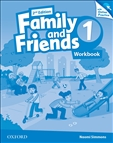 Family and Friends 1 Second Edition Workbook and Online Practice Pack