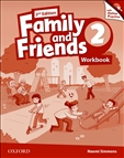 Family and Friends 2 Second Edition Workbook and Online Practice Pack