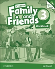 Family and Friends 3 Second Edition Workbook and Online Practice Pack
