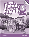 Family and Friends 5 Second Edition Workbook and Online Practice Pack