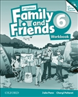 Family and Friends 6 Second Edition Workbook and Online Practice Pack