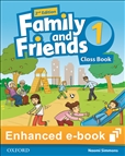 Family and Friends 1 Second Edition Student's eBook Code