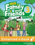Family and Friends 3 Second Edition Student's eBook Code