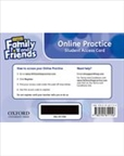 Family and Friends 1 Second Edition Student's Digital Access Code Card