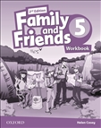 Family and Friends 5 Second Edition Workbook Classroon...