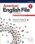 American English File Third Edition 1B Multipack