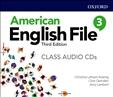 American English File Third Edition 3 Class Audio CD