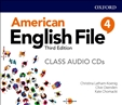 American English File Third Edition 4 Class Audio CD