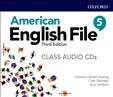 American English File Third Edition 5 Class Audio CD