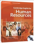 Cambridge English For Human Resources Student's Book with Audio CD