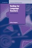 Testing for Language Teachers Paperback
