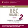 Cambridge BEC Practice Tests Higher 2 Audio CD