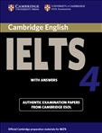 Cambridge IELTS 4 Student's Book with Answer Key