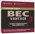 Cambridge BEC Practice Tests Vantage 3 Audio CD