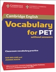 Cambridge Vocabulary for PET Book without Answer Key and Audio CD
