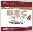 Cambridge BEC Practice Tests Vantage 4 Audio CD