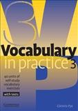 Vocabulary in Practice Book Level 3