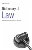 Dictionary of Law Fifth Edition
