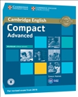 Compact Advanced Workbook without Answers with Audio (2015 Exam)