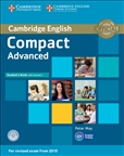 Compact Advanced Student's Book with Answers & CD-Rom (2015 Exam)