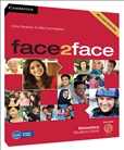 Face2Face Elementary Second Edition Student's Book with DVD-Rom