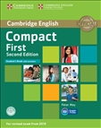 Compact First Second Edition Student's Book with answers with CD-Rom