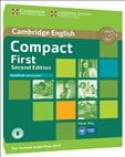 Compact First Second Edition Workbook with Answers and Online Audio