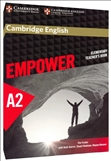 Cambridge English Empower A2 Elementary Teacher's Book